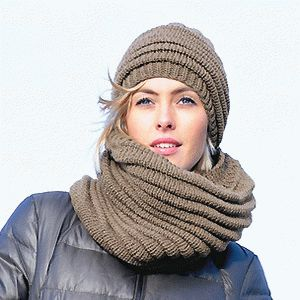 Knitted cowl and hat. Free knitting pattern. – Knitting and Crochet a08dd133948