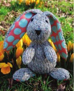 Knitting toy pattern- Bunny