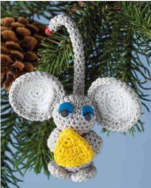 crochet toys mouse