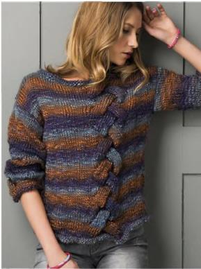 Cable Jumper- free knitting pattern