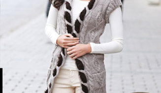 Vest for women- free knitting pattern