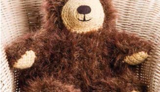 Knitted bear-free knitting pattern