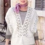 knitted women' jacket