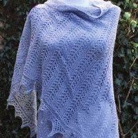 Free pattern Knitted shawl