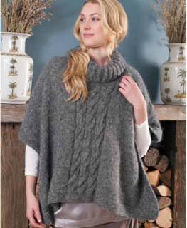 Free knitting pattern poncho erica knitting and crochet free knitting pattern poncho erica dt1010fo