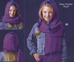 Easy knitting childs hooded scarf free knitting pattern knitting easy knitting childs hooded scarf free knitting pattern knitting and crochet dt1010fo