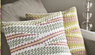Charleston Cushions -free knitting pattern