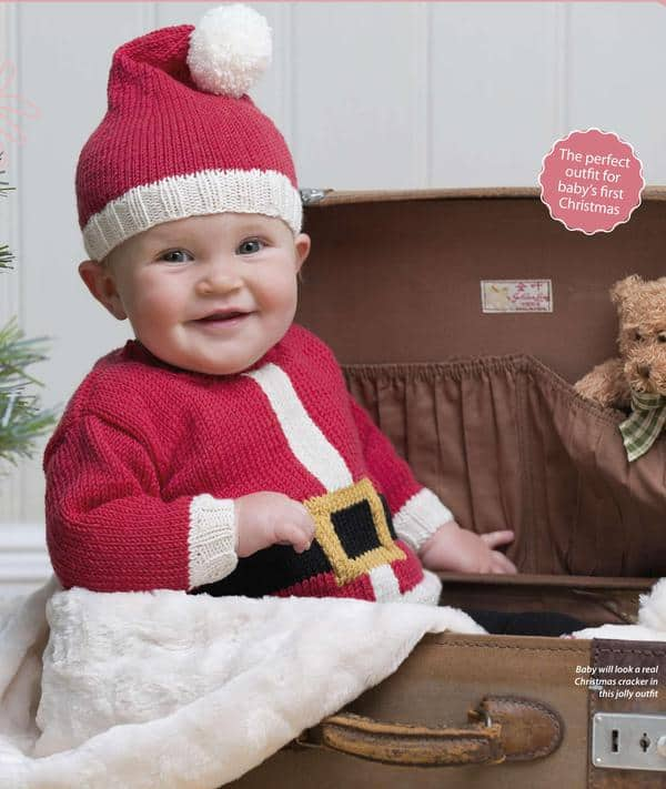 44fc6c75c Baby Santa Outfit First Christmas Outfit Winter Baby