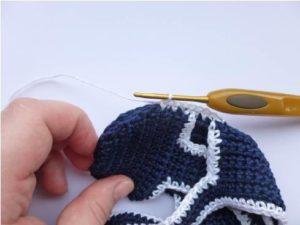 Baby Boy Sandals-free crochet pattern