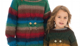 Owl Sweater- knitted sweater for children