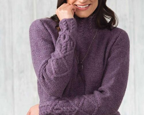 Beall Pullover-free knitting pattern