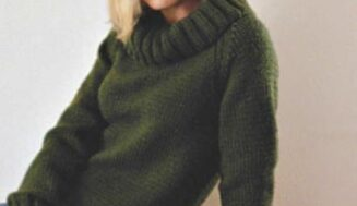Ultra Raglan Sweater -free knitting pattern