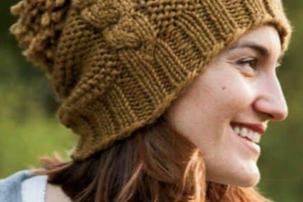 Cables Hat-free knitting pattern