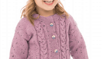 Knitted Jacket and Hat for girl
