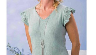 Knitted Tank top for women