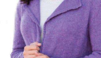 "Knitted cardigan ""Rainstorm Cardi"""