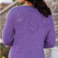 "Knitted cardigan ""Rainstorm Cardi""-free knitting pattern"