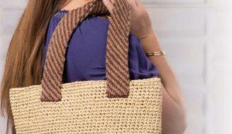 Summer tote bag-crochet pattern