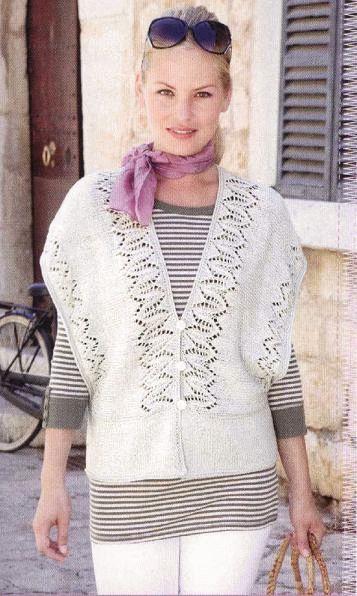 Free Knitting Pattern Womens Jacket Knitting And Crochet